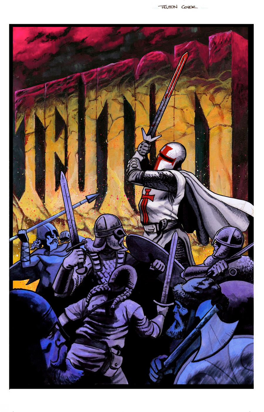 Teuton Trade Cover by ADAMshoots