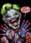 The Joker - Happy Halloween by ADAMshoots