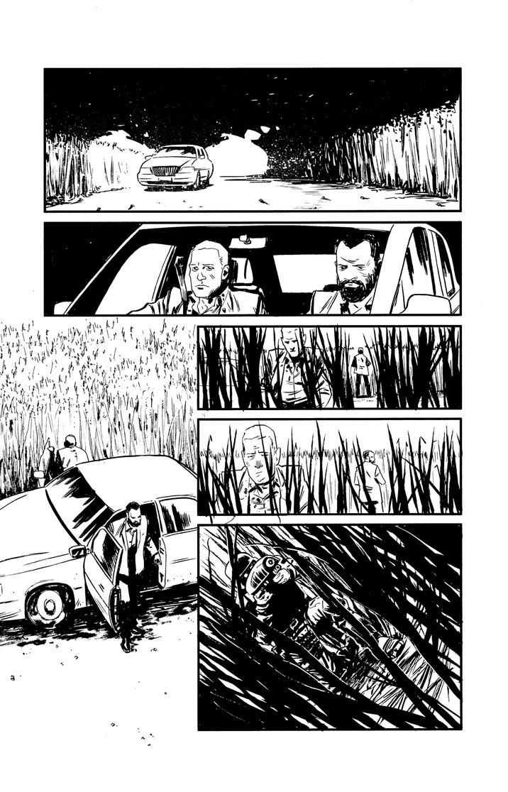 Undertow #5 / The Forgetting pt.4 / Page 7 by ADAMshoots