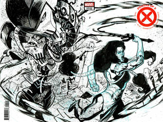 Powers of X #1 sketch cover