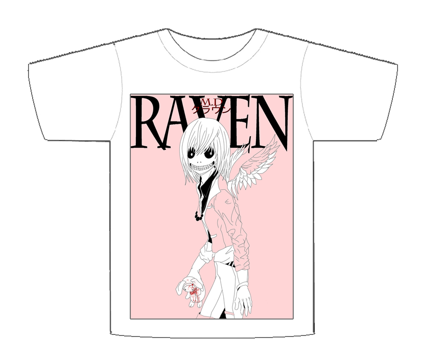 Raven T-Shirt design by MD-CLOWN