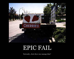 Epic Fail - Motivation Poster by Echidna-kid