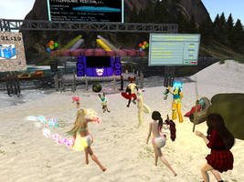 Beachparty At Cuppycake by lisakim777
