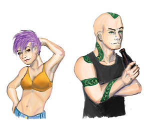 DitF characters - Ike and El