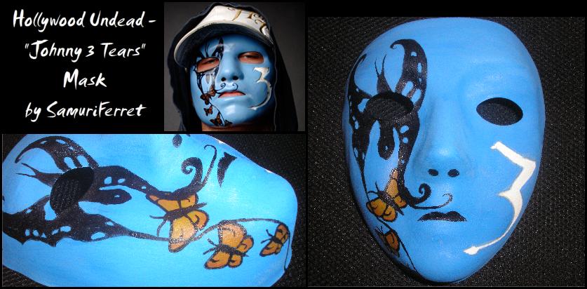 Hollywood Undead - J3T Mask by SamuriFerret