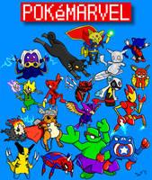 Pokemarvel by SamuriFerret
