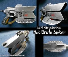 Nerf Mod - Halo Brute Spiker by SamuriFerret