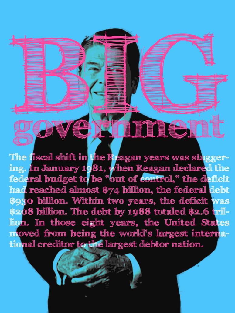 Reagan by EruditeLiberal