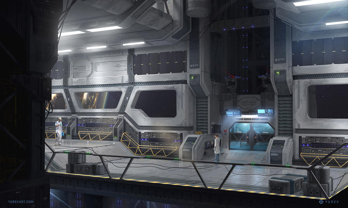 Sector 78 - Lift by YurevArt