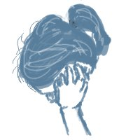 Ileana Drawing by aminoan