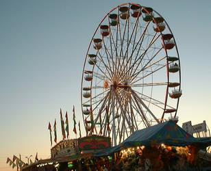 Ferris Wheel by Kakyou