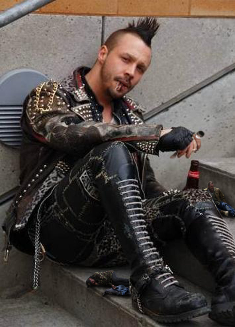 Hot gothic guys gay sex starting off with