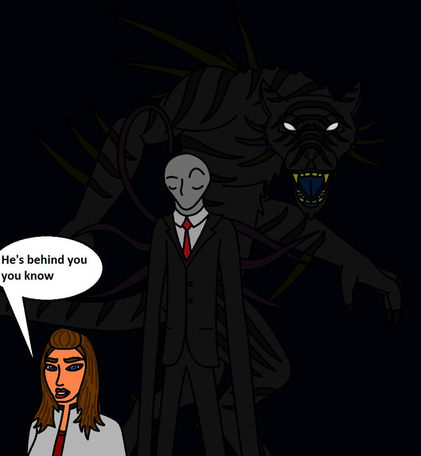 Slender's Fear by catuopuma