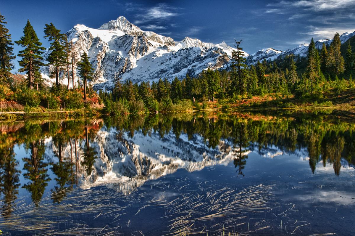 Mt. Shuksan HDR by LarryRaisch