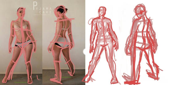 figure drawing by catwoman1199