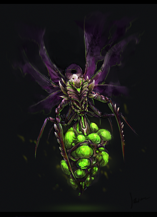 .zerg.queen. by mrssEclipse