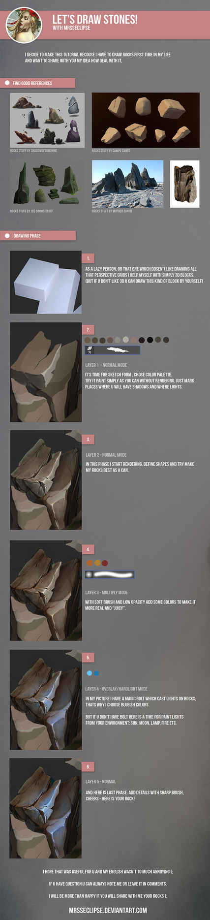 Stone Tutorial by mrssEclipse