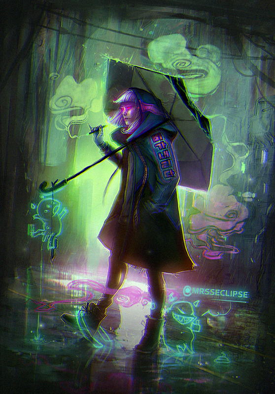 cyber fairy. by mrssEclipse