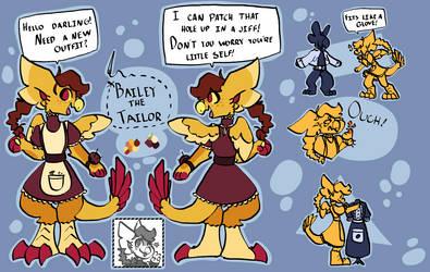 [NPC Contest] Bailey the Tailor