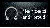 stamp :: pierced
