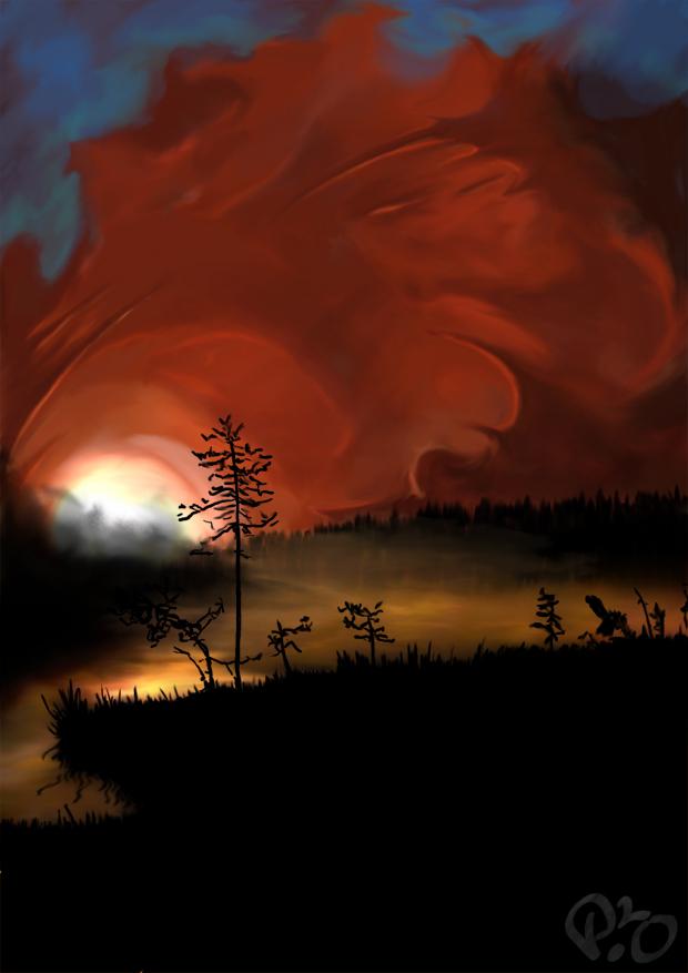 Dead Sky Dawning by p2o