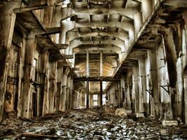 Ruin like sculpture by Gundross