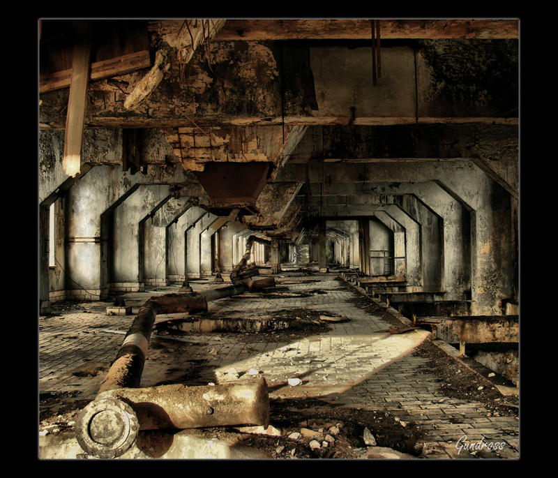 Postindustrial beauty by Gundross