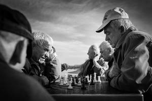 open air chess
