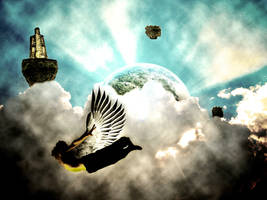 Homme Volant HDR by Maximes21500