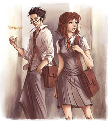 James et Lily by Hito76 by James-x-Lily