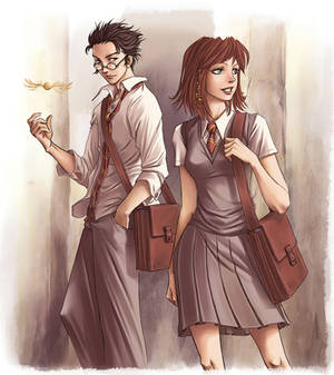 James et Lily by Hito76