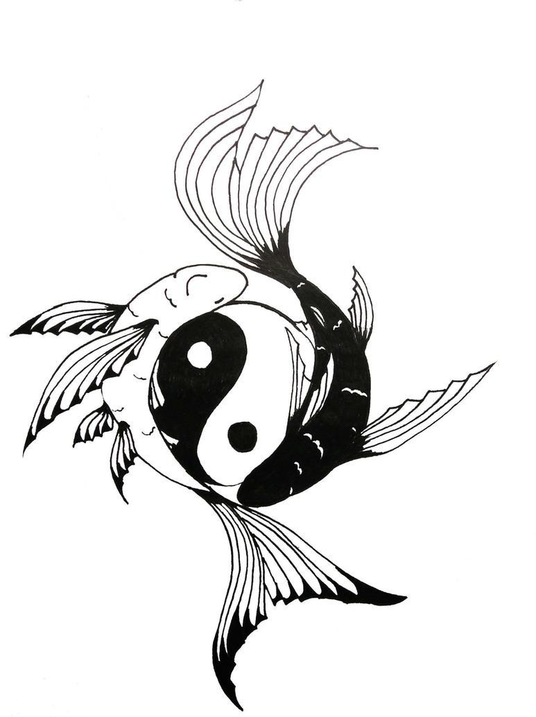 Tattoo ideas on pinterest koi cherry blossom tattoos for Koi fish yin yang tattoo