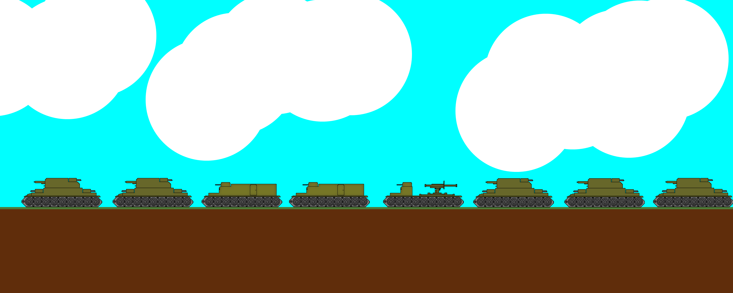 Tank convoy by KingTorrhenStark
