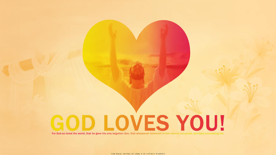 clipart god loves you - photo #5