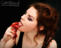 Bloody Meal by Estelle-Photographie