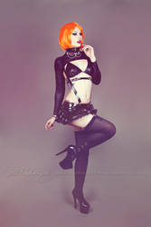 Latex harness 1 by Estelle-Photographie