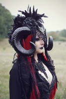 Horned witch 2 by Estelle-Photographie