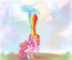 +MLP - Rainbow Pinkie+