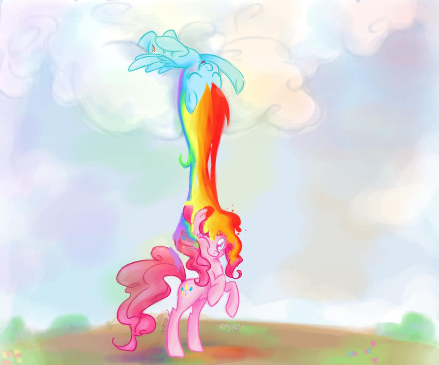 +MLP - Rainbow Pinkie+ by Kelsea-Chan
