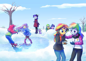 +Winter Antics+ by Kelsea-Chan