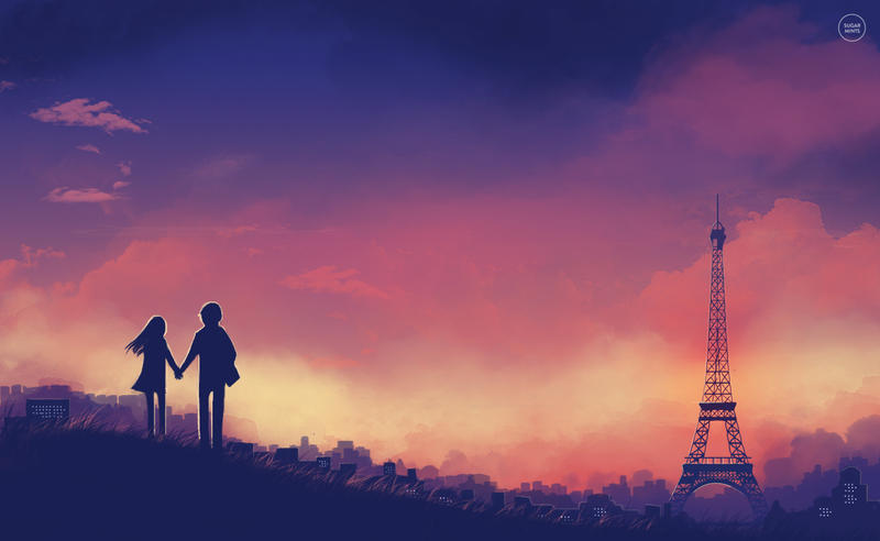 city of love. by sugarmints