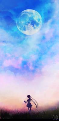twilight moon.