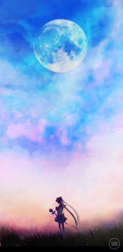twilight moon. by sugarmints