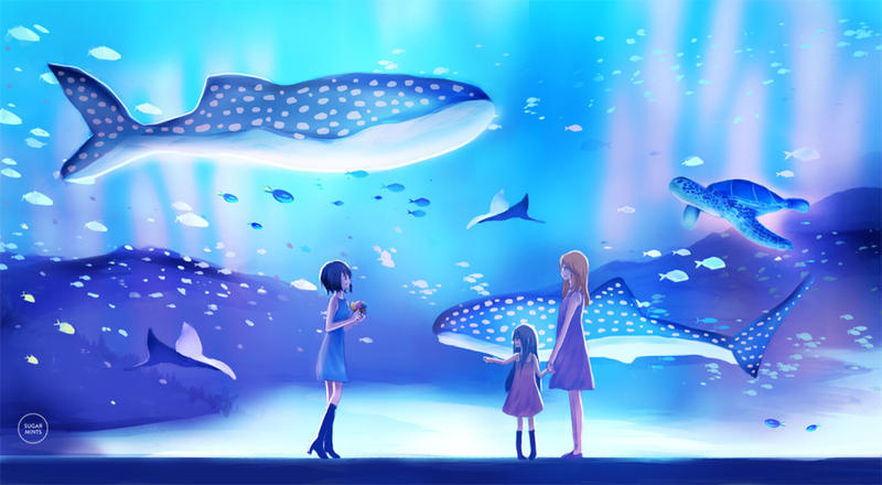 girlfriends: sea adventure. by sugarmints