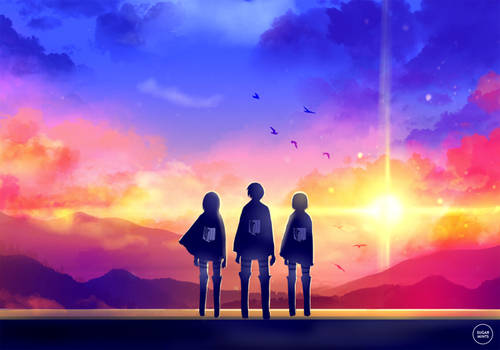 snk: to the world beyond.