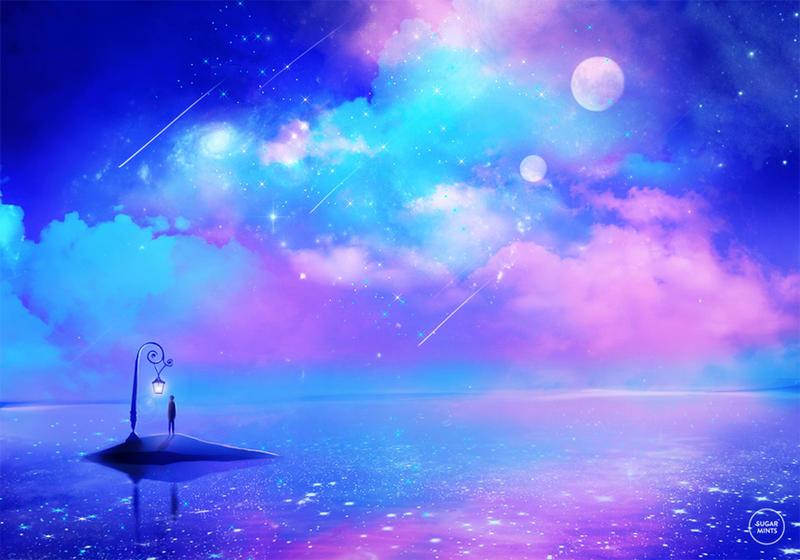 sea of stars.