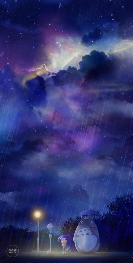 totoro's universe. by sugarmints