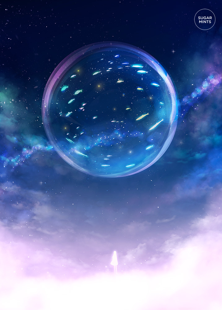 celestial aquarium. by sugarmints