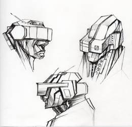 Head gear concepts by kurteinhaus