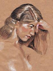 Life Drawing Portrait - Mimi